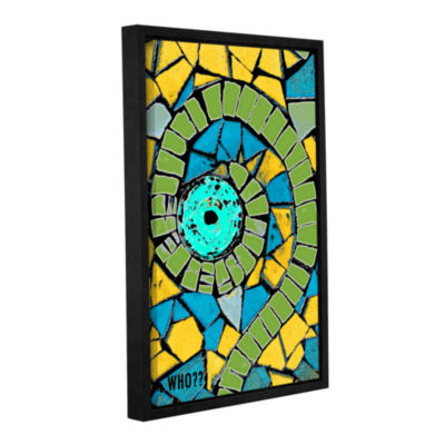 Brushstone Who Gallery Wrapped Floater-Framed Canvas Wall Art