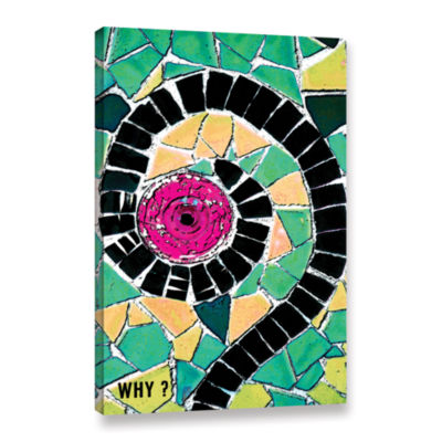 Brushstone Why Gallery Wrapped Canvas Wall Art