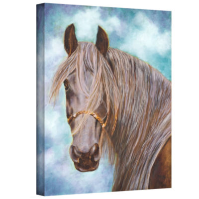 Brushstone Whisper Gallery Wrapped Canvas Wall Art