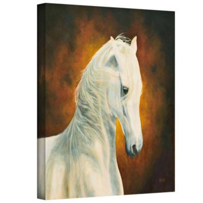Brushstone White Magic Gallery Wrapped Canvas WallArt