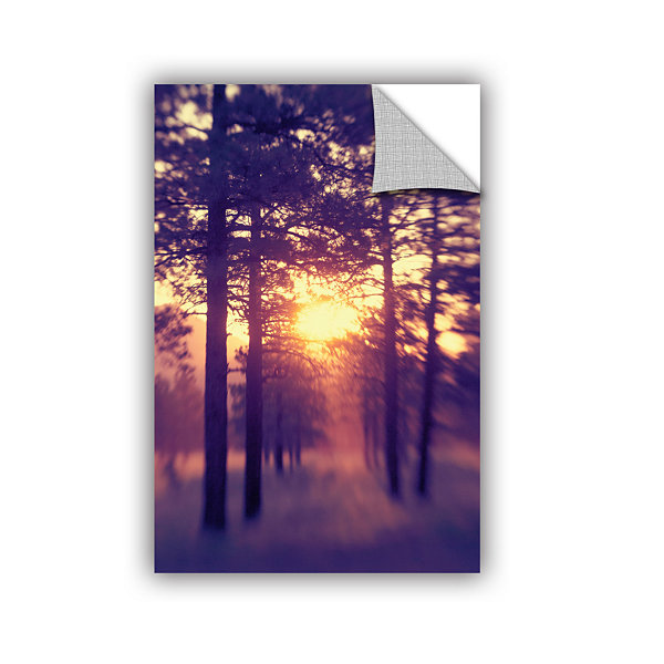 Brushstone Woodland Sunset Removable Wall Decal