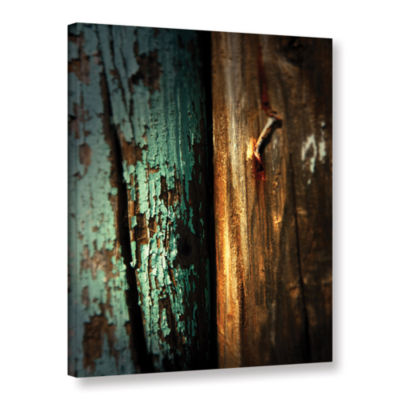 Brushstone Wood And Nail Gallery Wrapped Canvas Wall Art
