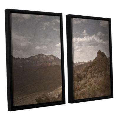 Brushstone Wishing For Wings 2-pc. Floater FramedCanvas Wall Art