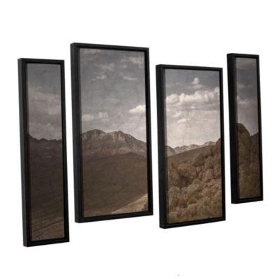 Brushstone Wishing For Wings 4-pc. Floater FramedStaggered Canvas Wall Art