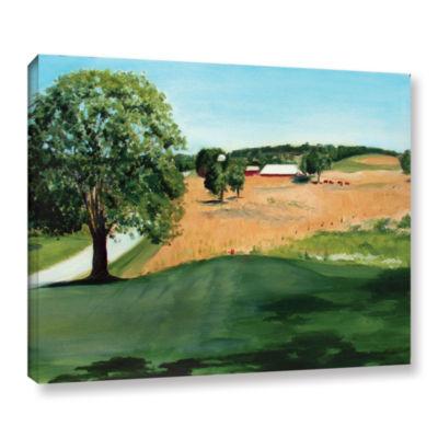 Brushstone Western Pennsylvania Farm Gallery Wrapped Canvas Wall Art