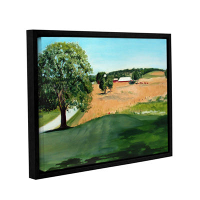 Brushstone Western Pennsylvania Farm Gallery Wrapped Floater-Framed Canvas Wall Art