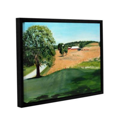 Brushstone Western Pennsylvania Farm Gallery Wrapped Floater-Framed Canvas Wall Art