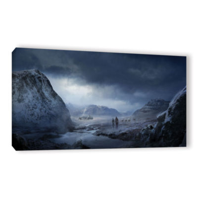 Brushstone Winter Gallery Wrapped Canvas Wall Art
