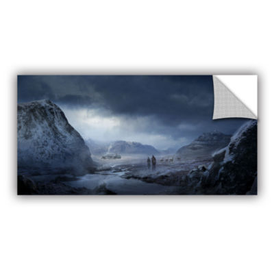 Brushstone Winter Removable Wall Decal