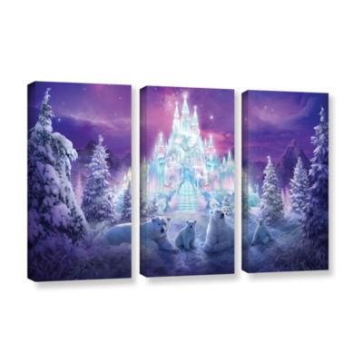 Brushstone Winter Wonderland 3-pc. Gallery WrappedCanvas Wall Art