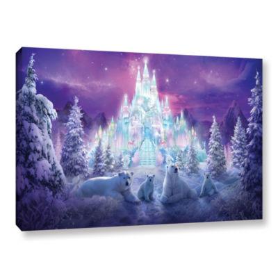 Brushstone Winter Wonderland Gallery Wrapped Canvas Wall Art