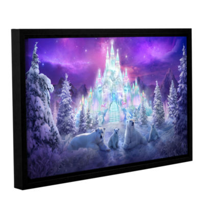Brushstone Winter Wonderland Gallery Wrapped Floater-Framed Canvas Wall Art