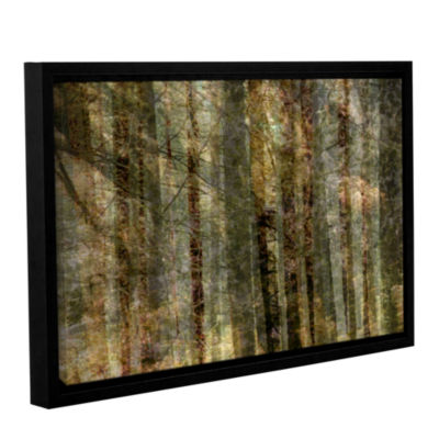 Brushstone Wood For The Trees Gallery Wrapped Floater-Framed Canvas Wall Art