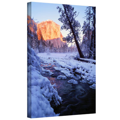 Brushstone Winter Paradise By Dean Uhlinger Gallery Wrapped Canvas Wall Art