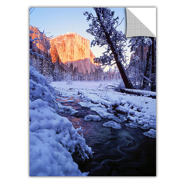 Brushstone Winter Paradise By Dean Uhlinger Removable Wall Decal