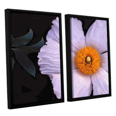 Brushstone Wild Hibiscus By Dean Uhlinger 2-pc. Floater Framed Canvas Wall Art