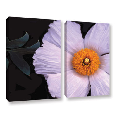 Brushstone Wild Hibiscus By Dean Uhlinger 2-pc. Gallery Wrapped Canvas Wall Art