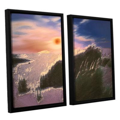 Brushstone Windswept By Dean Uhlinger 2-pc. Floater Framed Canvas Wall Art