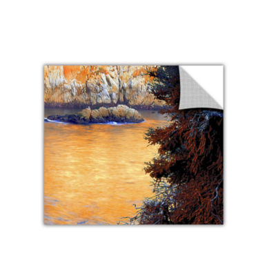 Brushstone Whalers Cove Sunset By Dean Uhlinger Removable Wall Decal