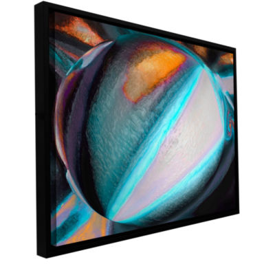 Brushstone Who-Neh By Dean Uhlinger Gallery Wrapped Floater-Framed Canvas Wall Art