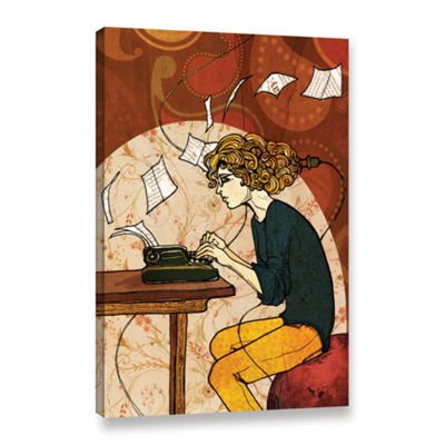 Brushstone Wired To Write Gallery Wrapped Canvas Wall Art