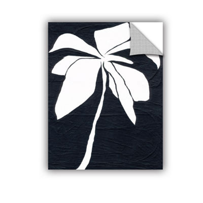 Brushstone White Flower Removable Wall Decal