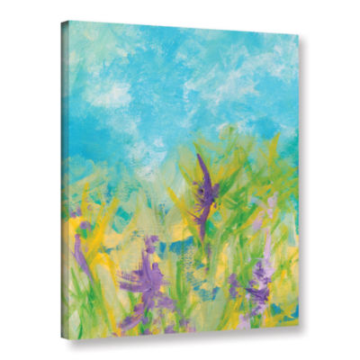 Brushstone Wild Flowers Gallery Wrapped Canvas Wall Art