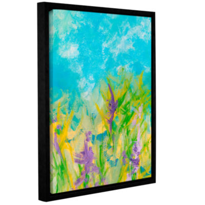 Brushstone Wild Flowers Gallery Wrapped Floater-Framed Canvas Wall Art