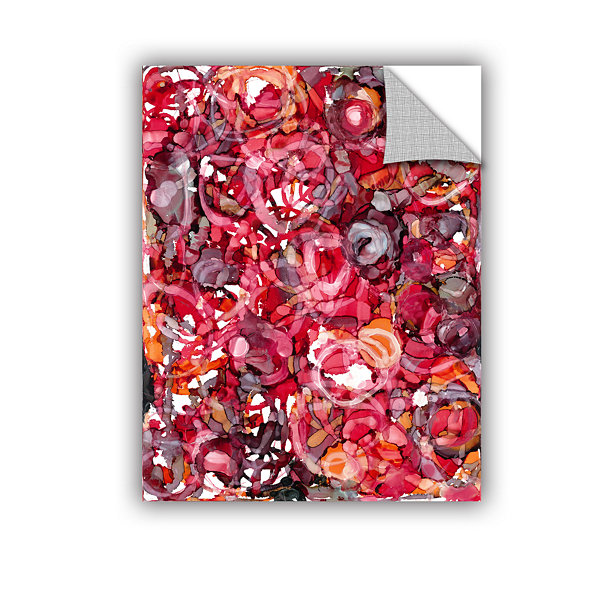 Brushstone Wild Roses By Norman Wyatt Jr. Removable Wall Decal