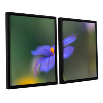 Brushstone Wildflower Dance 2-pc. Floater Framed Canvas Wall Art