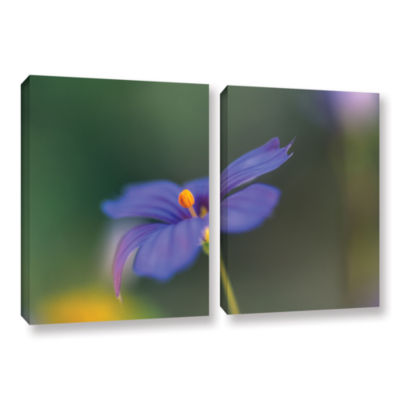 Brushstone Wildflower Dance 2-pc. Gallery WrappedCanvas Wall Art