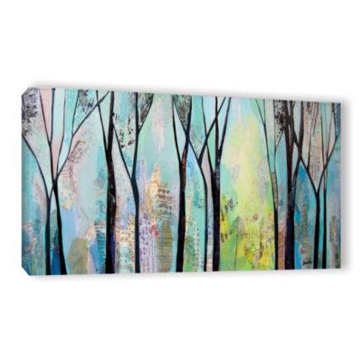 Brushstone Winter Wandering II Gallery Wrapped Canvas Wall Art