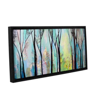 Brushstone Winter Wandering II Gallery Wrapped Floater-Framed Canvas Wall Art