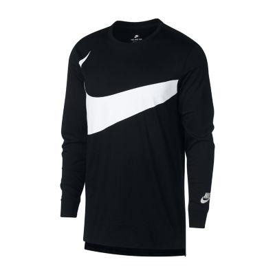 Nike Long Sleeve Crew Neck T-Shirt