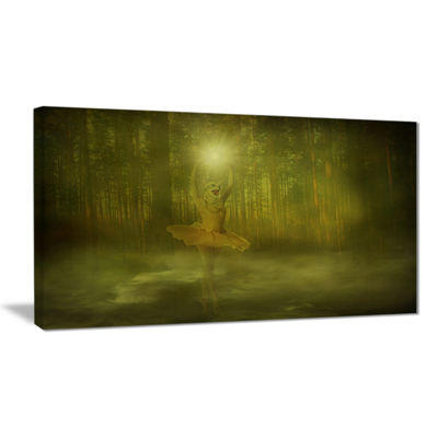Designart Dance Of The Sun Landscape Photography Canvas Art Print