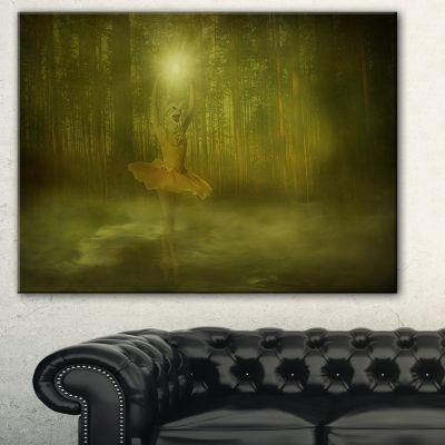 Designart Dance Of The Sun Landscape Photography Canvas Art Print - 3 Panels