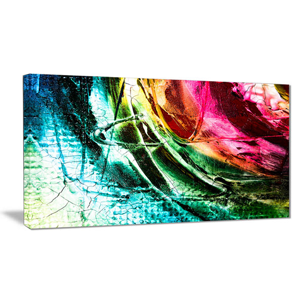 Designart Abstract Buddha Buddhism Abstract CanvasArt Print