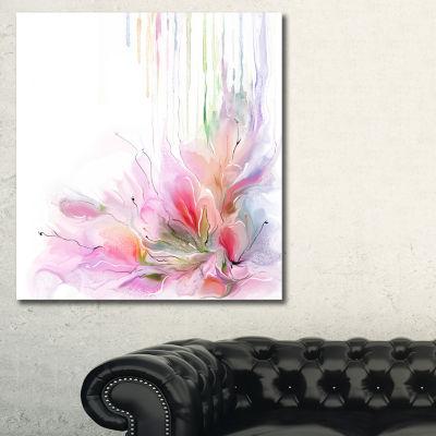 Designart Floral Composition Floral Canvas Art Print