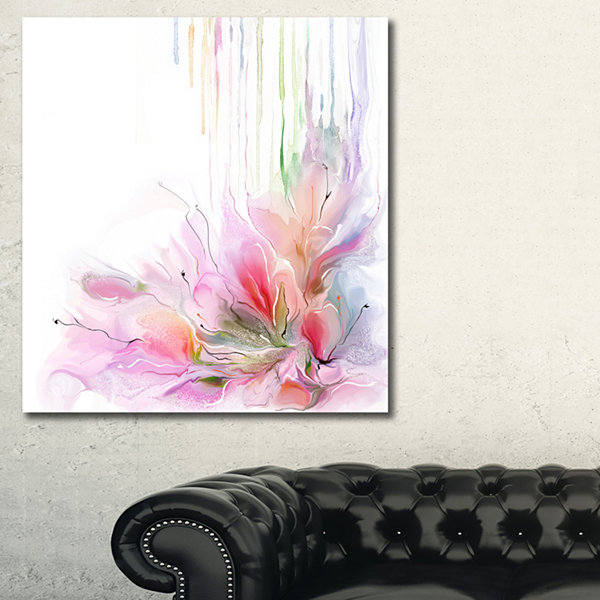 Designart Floral Composition Floral Canvas Art Print - 3 Panels