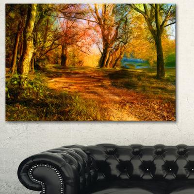 Designart Beauty Of Nature Landscape Art Print Canvas
