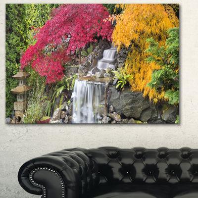 Designart Japanese Maple Trees Floral PhotographyArt