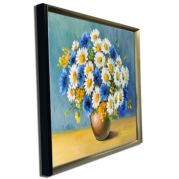 Designart Bouquet Of Spring Flowers Floral Art Canvas Print
