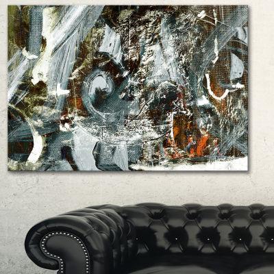 Designart Contemporary Abstract Design Abstract Canvas Print