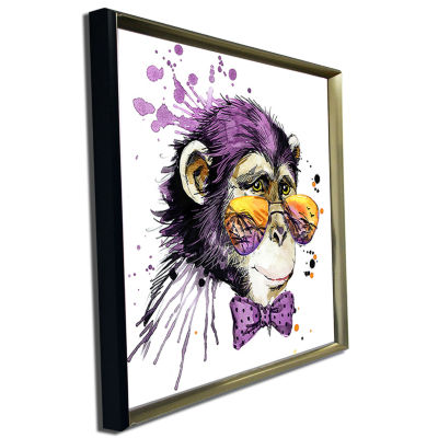Design Art Cool Monkey Animal Kids Art Painting Canvas Artwork