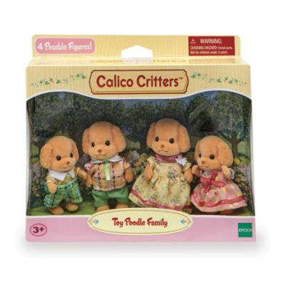 International Playthings - Calico Critters Toy Poodle Family