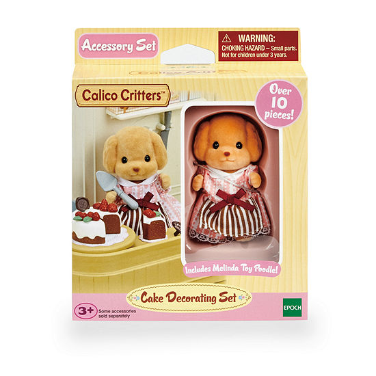 International Playthings - Calico Critters Cake Decorating Set