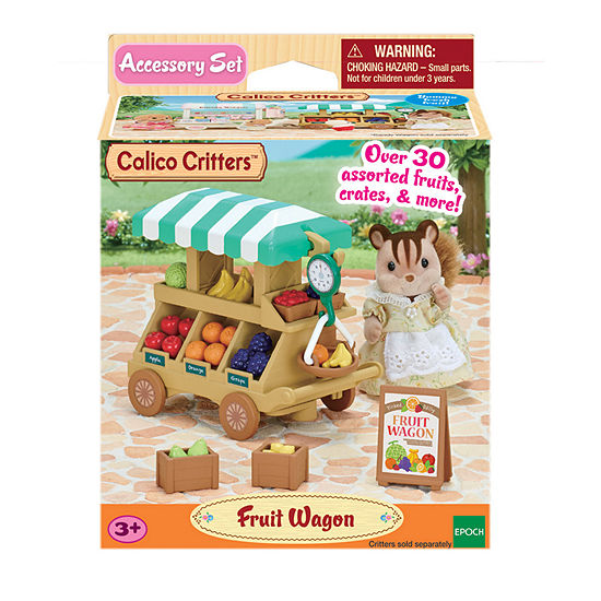 International Playthings - Calico Critters Fruit Wagon