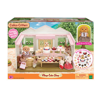 International Playthings - Calico Critters Village Cake Shop