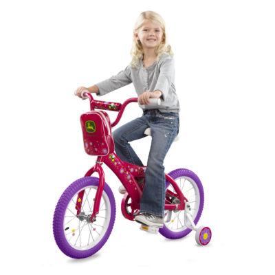 TOMY - John Deere 16 Inch Girls Bicycle