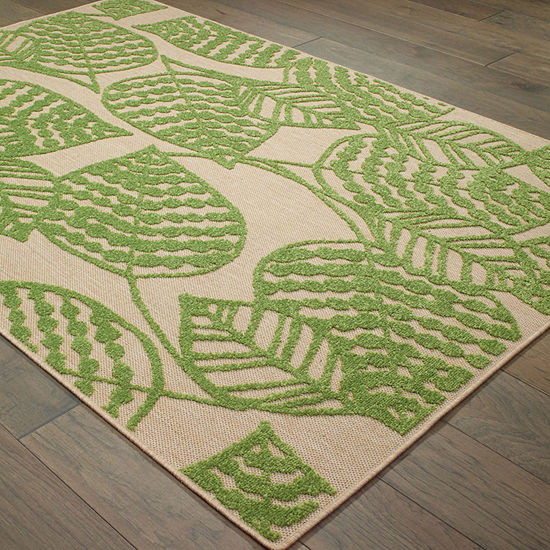 Covington Home Caribe Tropics Rectangular Indoor/Outdoor Rugs